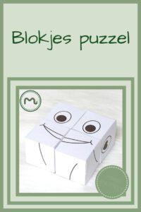 Pinterest - blokjes puzzel