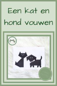 Pinterest - kat en hond vouwen