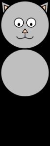 Schrijfkat (gelijke lijnafstand)