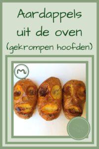 Pinterest - Aardappels uit de oven (gekrompen hoofden)