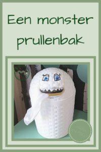 Pinterest - monster prullenbak