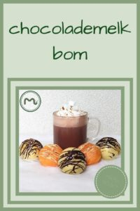 Pinterest - chocolademelk bom
