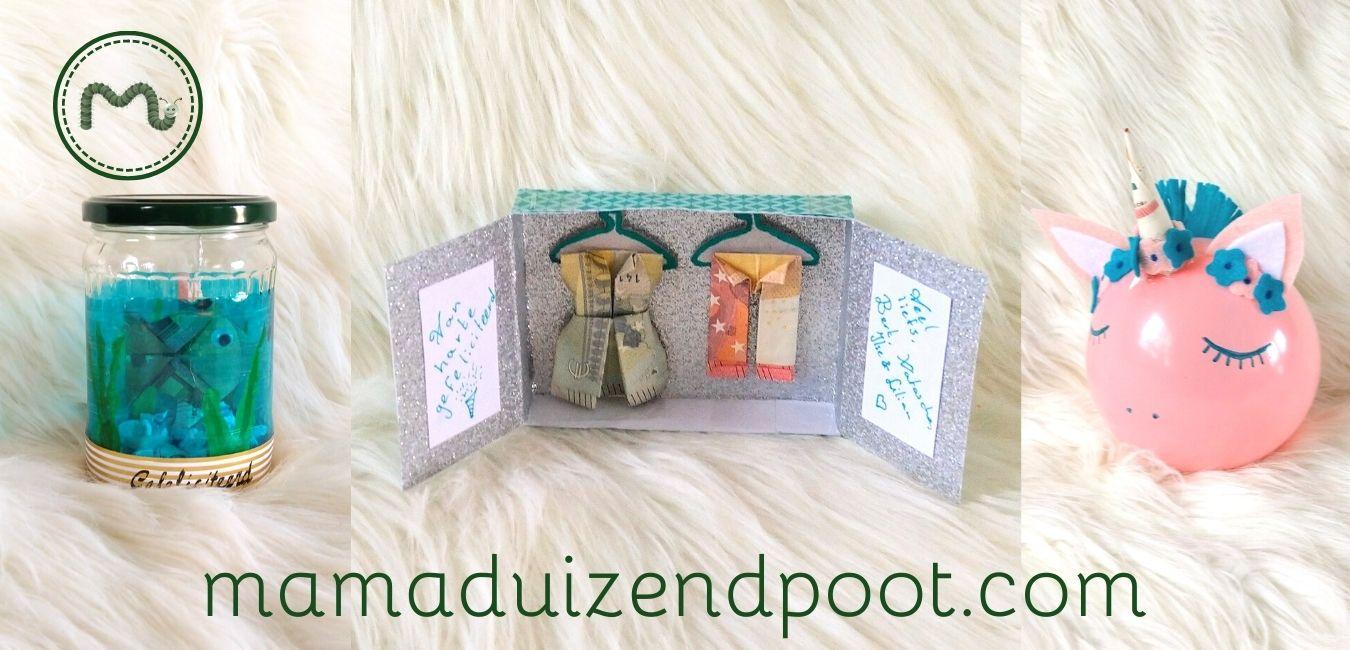 Geld cadeau geven hoeft niet saai te zijn (deel 2)