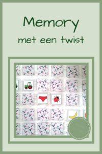 Pinterest - memory met een twist