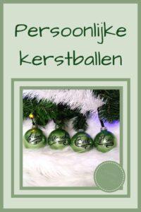 Pinterest - persoonlijke kerstballen
