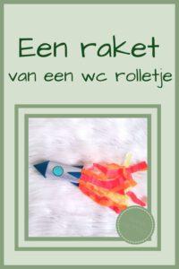 Pinterest - raket van wc rolletje