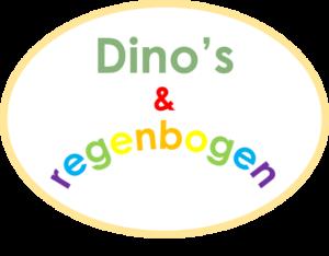 Dino's en regenbogen