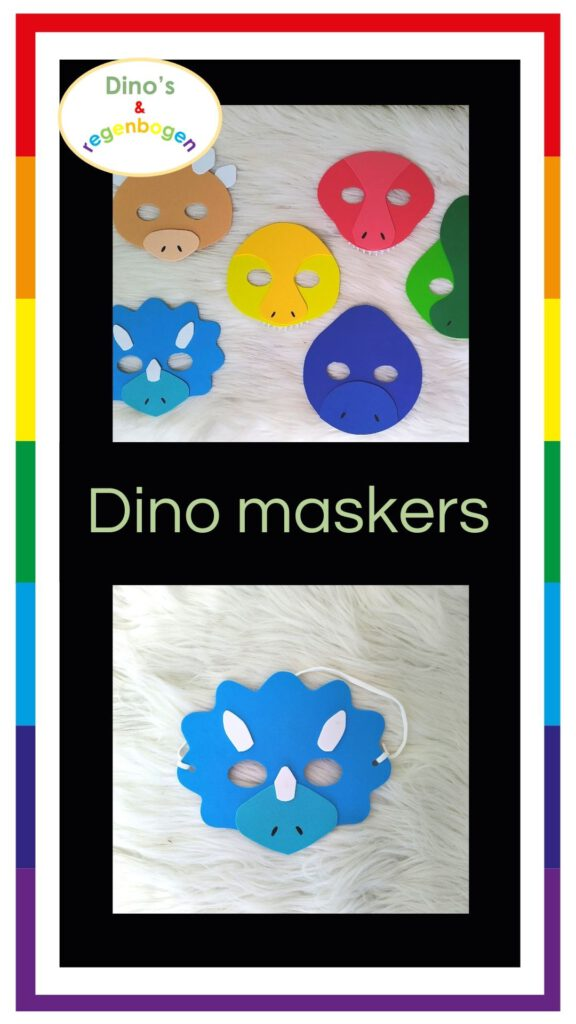 Pinterest-Dino-maskers