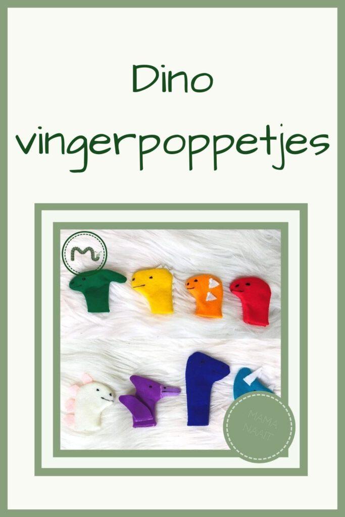 Pinterest - Dino vingerpoppetjes